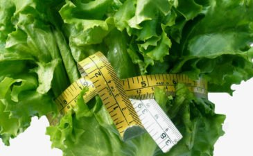 lettuce measuring tape diet and exercise
